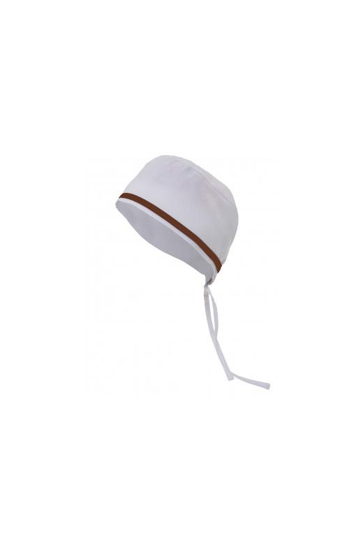 Bonnet sanitaire avec passepoil contrastant