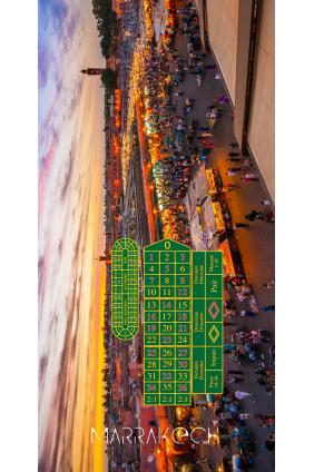 Tapis de Casino Roulette