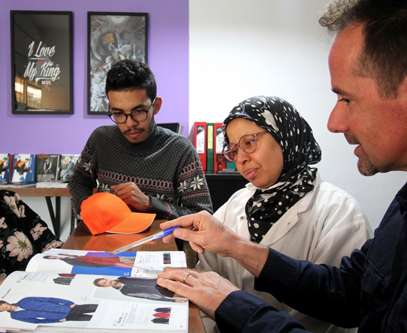 atelier confection textile maroc