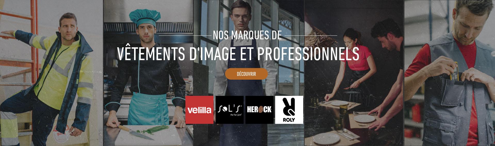 Vêtements d'image et professionnels